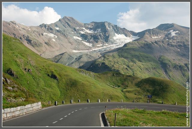 Carretera alpina de Grossglockner Parque Nacional Hohe Tauern (Austria)