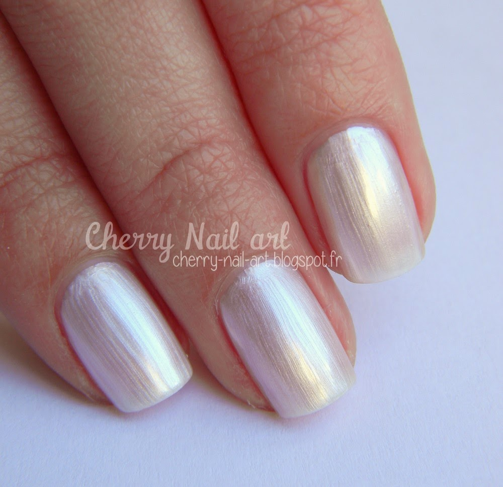 vernis city color auchan blanc perle