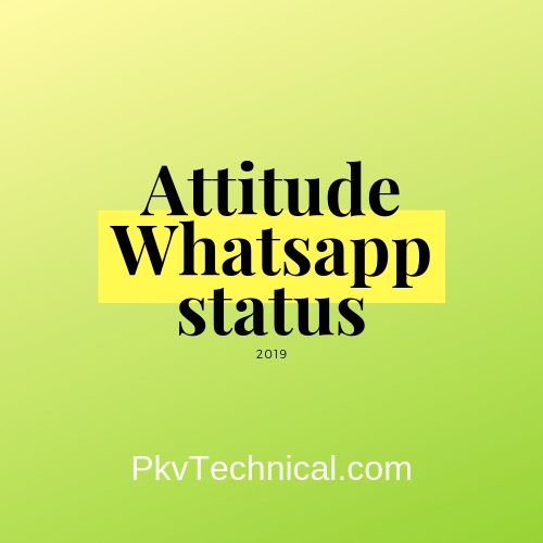 The Best Whatsapp Attitude Motivational Love Status In English And