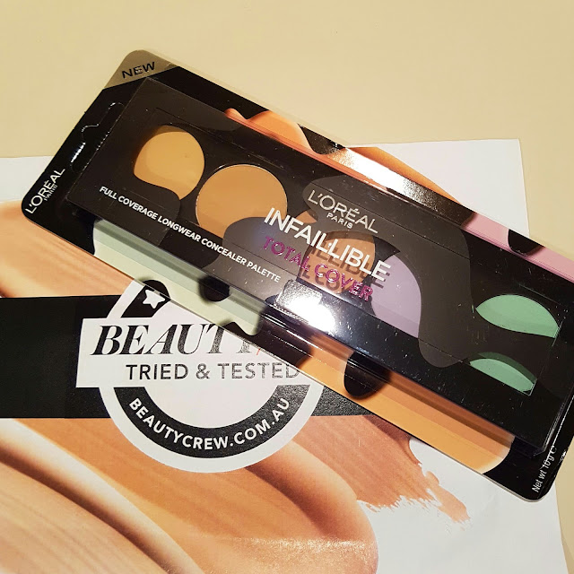 L'Oreal Infallible Concealer Palette | Almost Posh