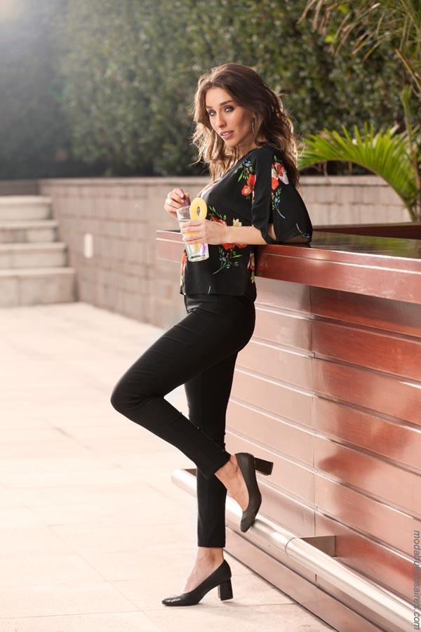 Moda mujer primavera verano 2019. Pantalones y blusas verano 2019.
