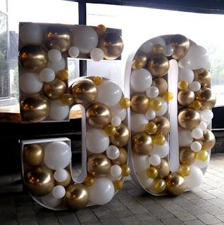 3D Mosaic Balloon Number