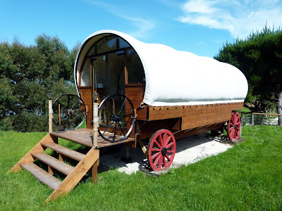 wagon stay christchurch new zealand wacky stay