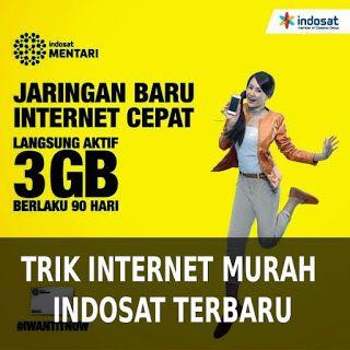 Trik Internet Promo Kartu Indosat 3GB Murah