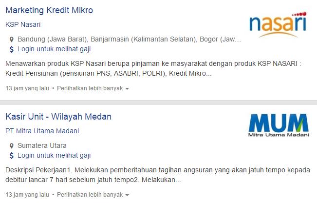 Info Lowongan Kerja Terbaru Kota Binjai 2019.