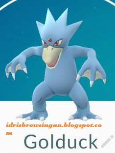 Golduck Pokemon GO