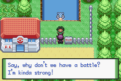 pokemon orange gba screenshot 2