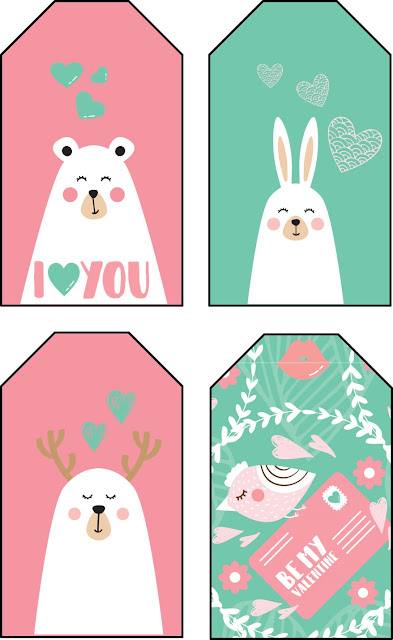carteles, etiquetas, san valentin, imprimibles, printables, gratis, descargar