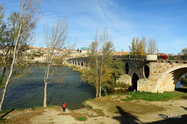 Puente de Piedra, río Duero, Zamora