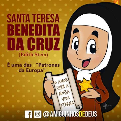 Santa Teresa Benedita da Cruz (Edith Stein) desenho