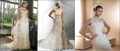 сватбени рокли в стил риба