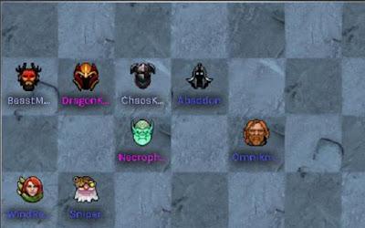 Đội nhóm 3 Hunter - 4 Knight - 2 Undead trợ giúp người chơi quản lý giai đoạn giữa ải