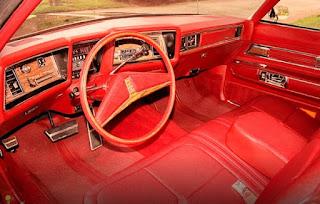 1973 Oldsmobile 98 Luxury Sedan Dashboard