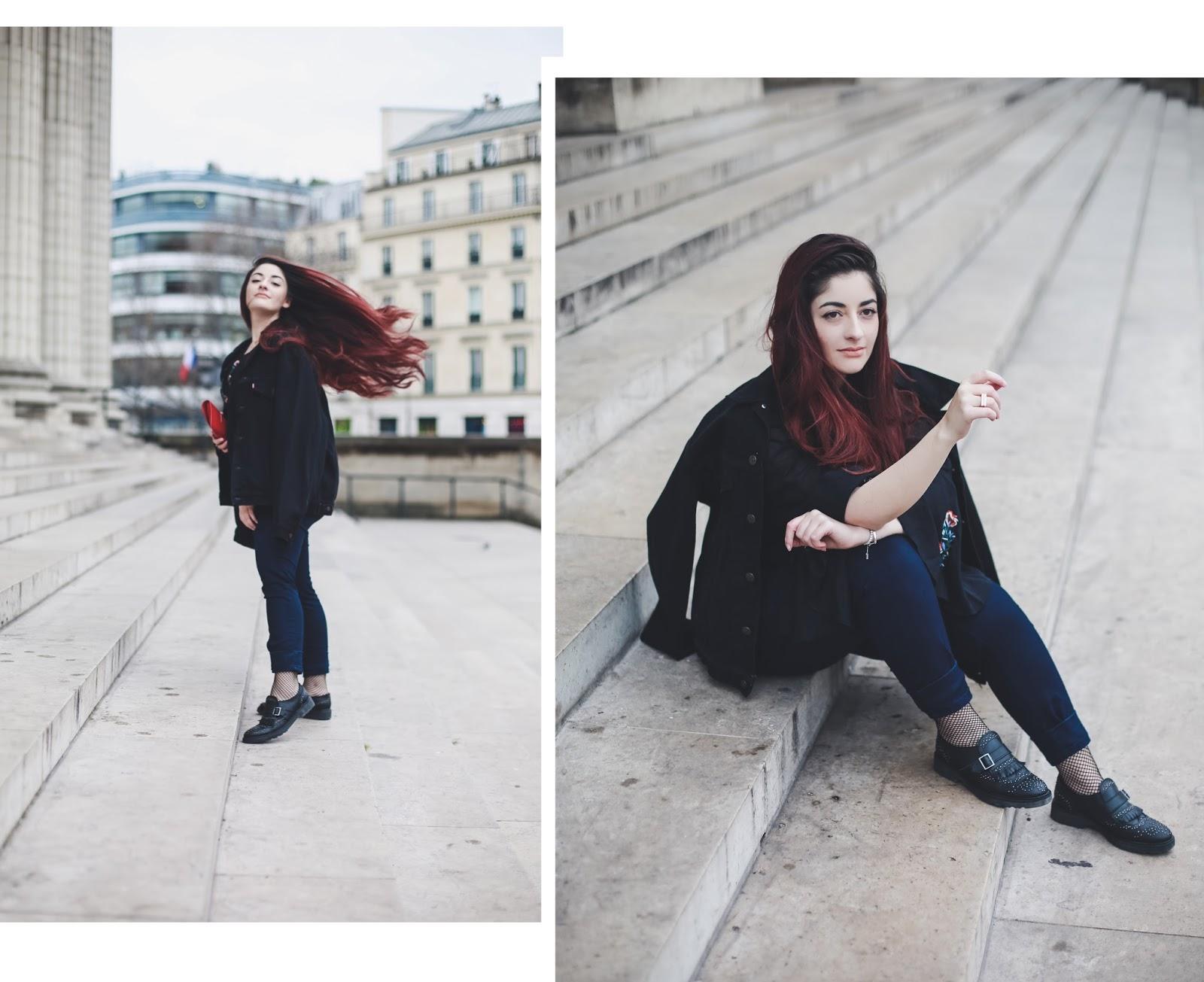 chaussettes résilles blog mode venus is naive