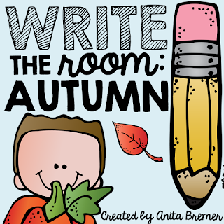 Fall Write the Room Activity for Kindergarten