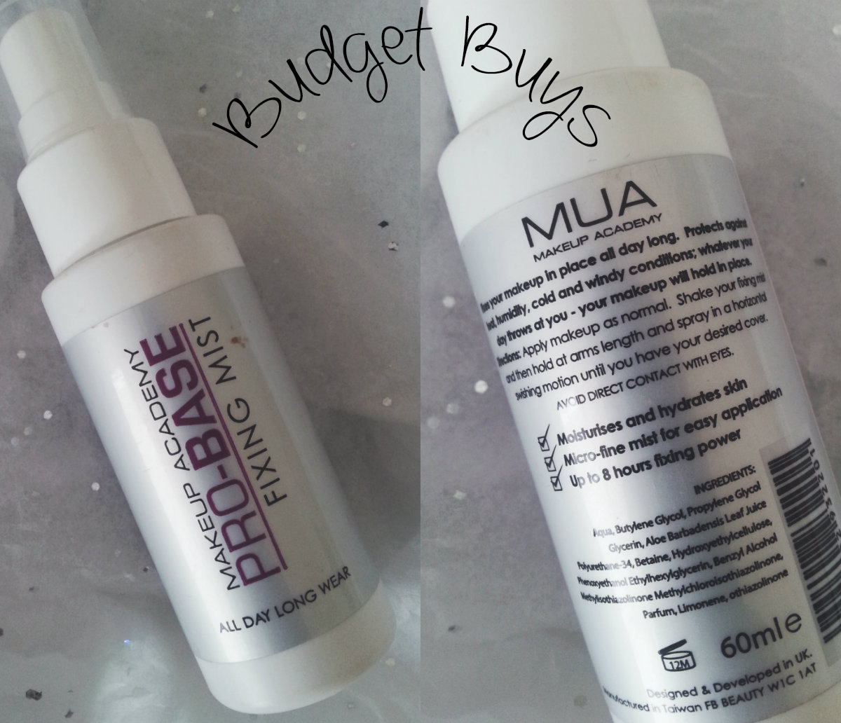 MUA Pro Base Fixing Mist