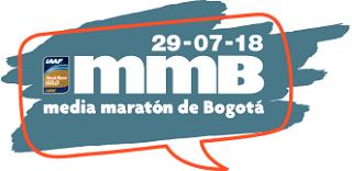 Logo Media Maratón De Bogotá