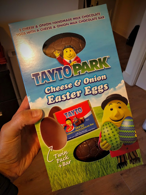 Tayto Park - Cheese and Onion Chocolate Egg