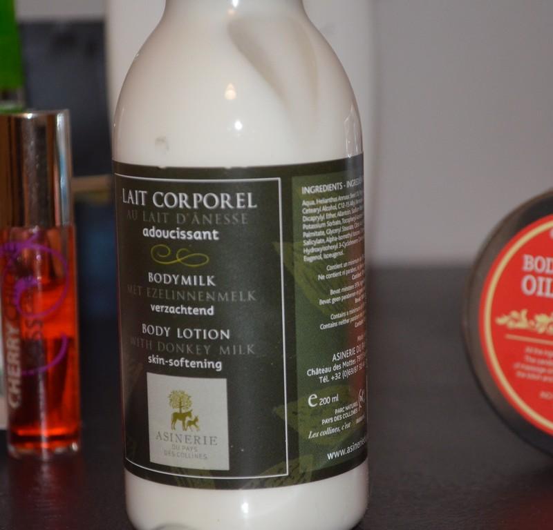Lait corporel au lait d'ânesse par l'Asinerie du Pays des Collines