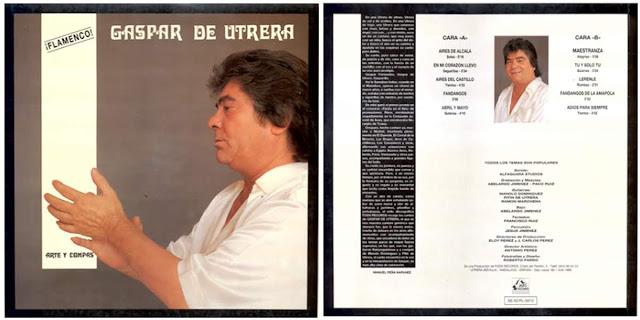 GASPAR DE UTRERA, MANUEL DOMÍNGUEZ, PITÍN DE UTRERA Y RAMÓN MARCHENA LP 1988 FODS RECORDS. NOS ENCOTRAMO CON SU TERCER ÁLBUM