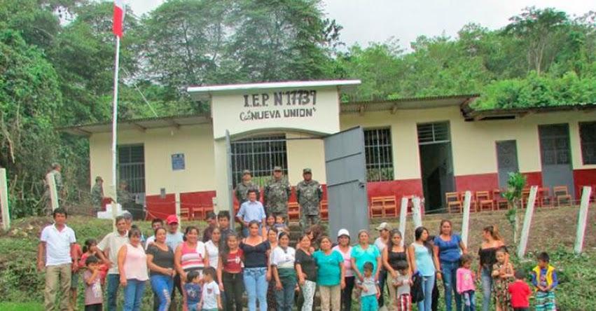 Colegios de Cajamarca también reciben mantenimiento con apoyo del Ejército Peruano - www.ejercitodelperu.mil.pe