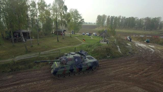 Drohnenaufnahmen Panzerschule Beersfelde