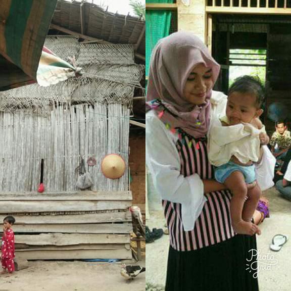 LPDA Mengunjungi Anak Yatim - Piatu  Naja  Berusia 4 Bulan dan Akan Menyantuni Tiap Bulannya