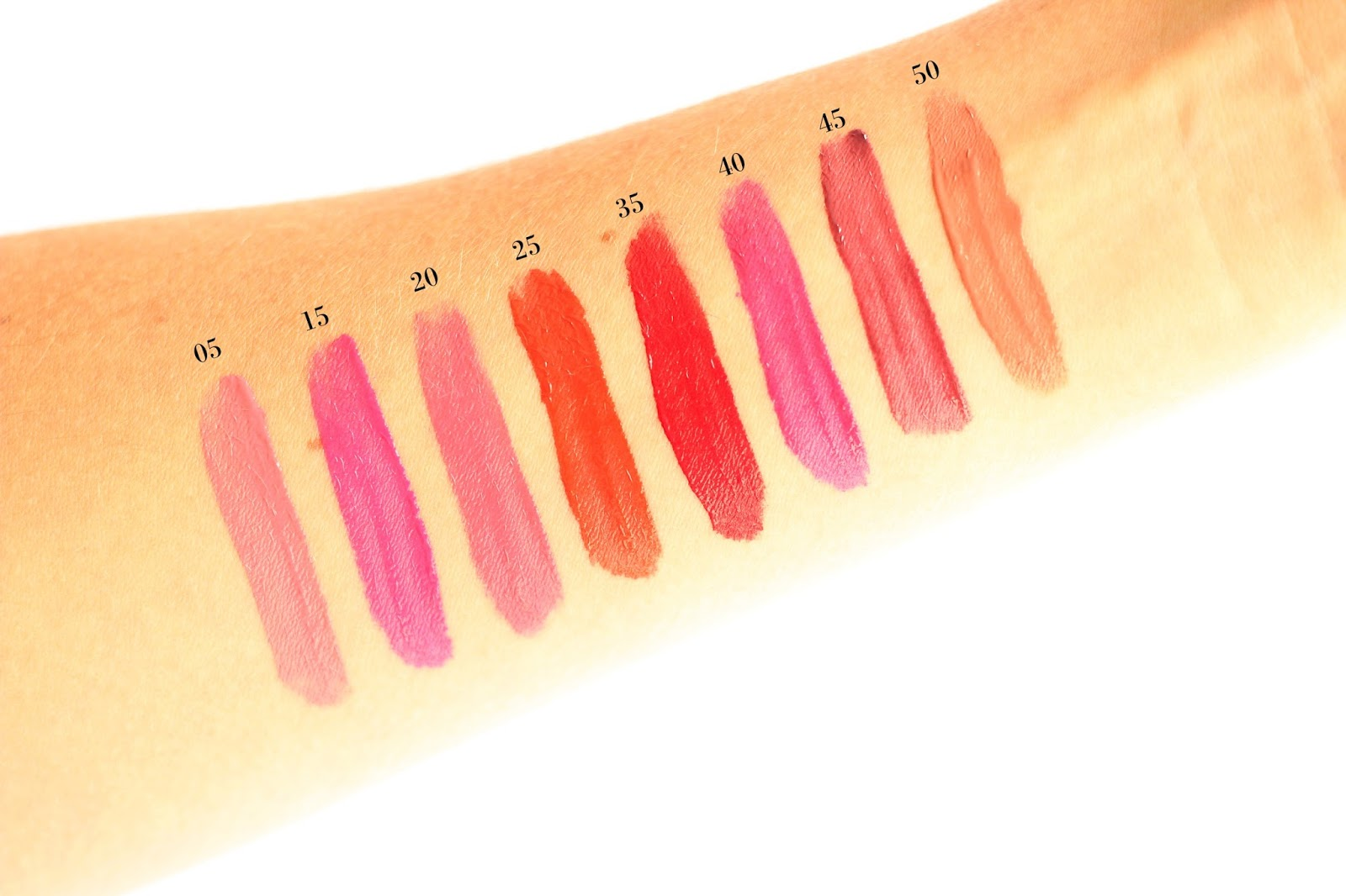 Swatches of the NEW Maybelline Color Sensational Vivid Matte Liquid Lipsticks Collection