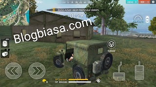 Kendaraan / mobil di free fire