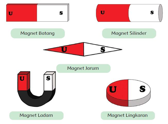 Bentuk Magnet