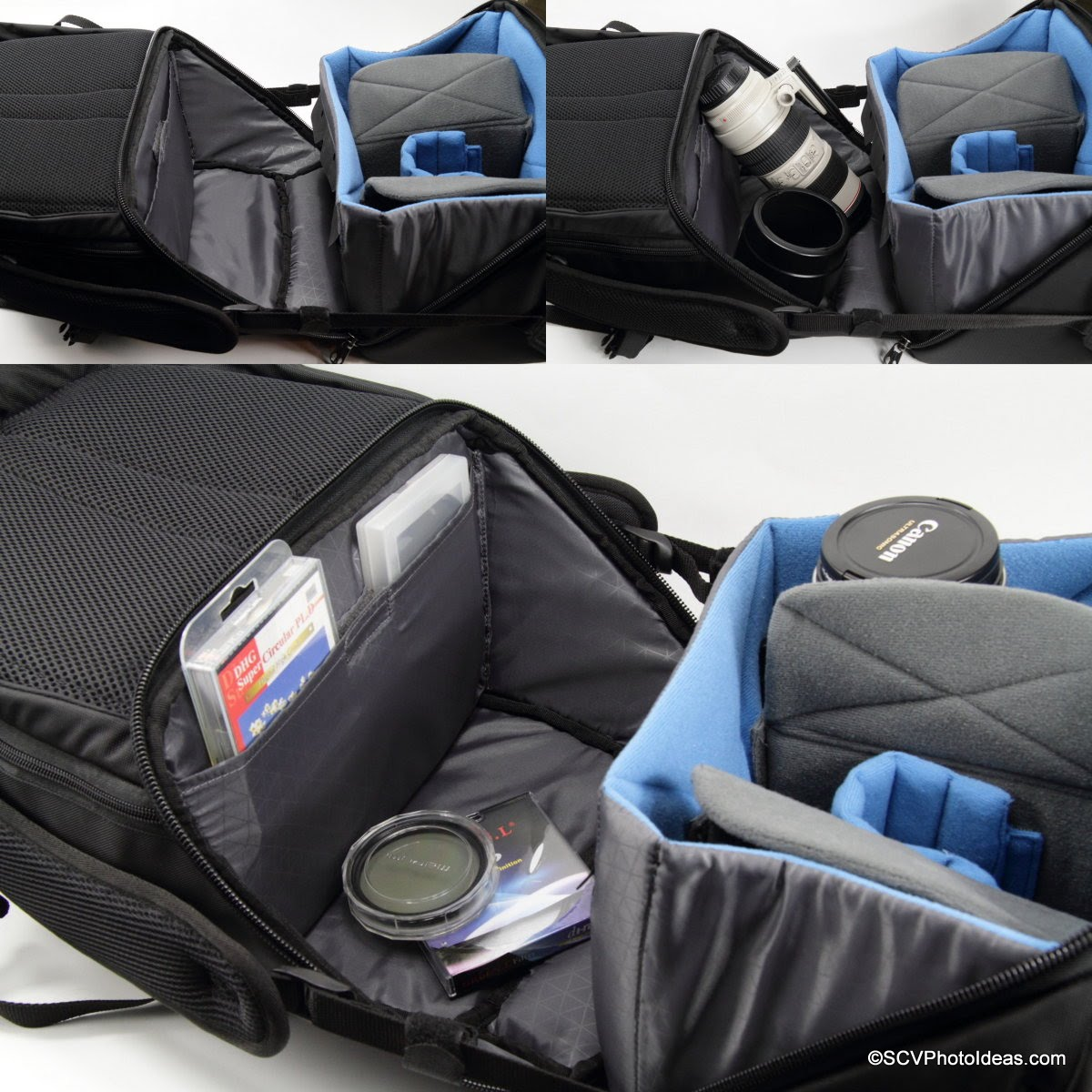 Case Logic DSB-103 main compartment work-out station and slim pocket