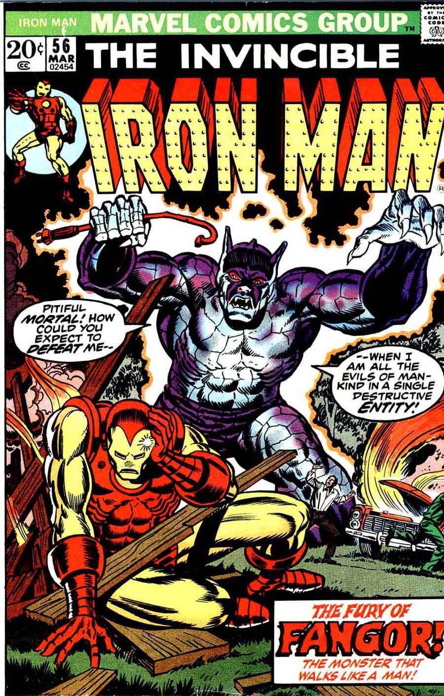 iron man  56 - jim starlin art  u0026 cover