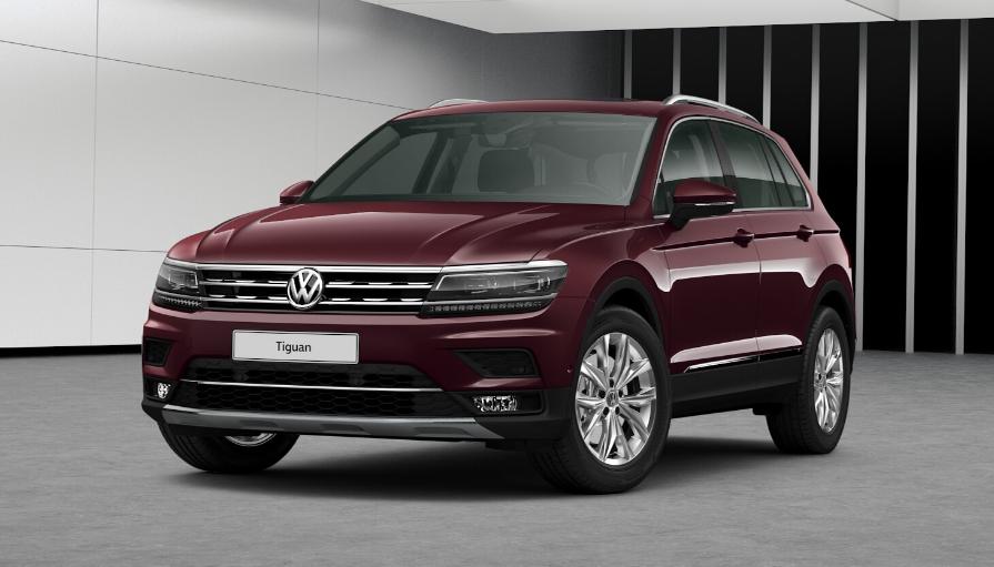 Volkswagen Tiguan Ii 2019 Couleurs Colors