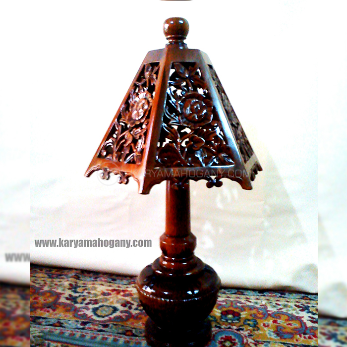 Lampu Hias Kayu Jati