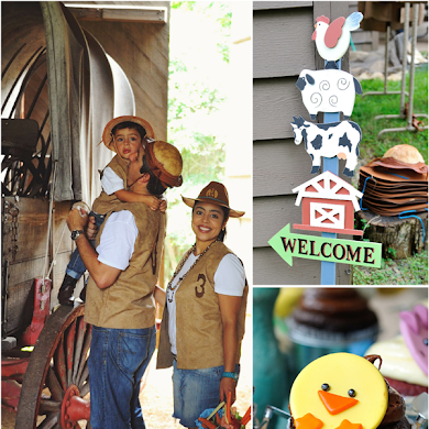 A Cowboy Ranch 3rd Birthday Party