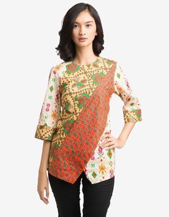 Contoh Model Baju Seragam Batik Untuk Guru Wanita