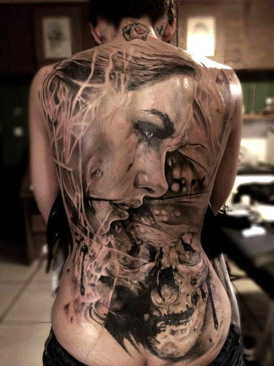 40 Tatuajes De Espalda Completa Para Mujeres Atrevidas Belagoria