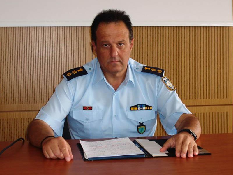 Image result for αστυνομικος διευθυντής Ημαθίας