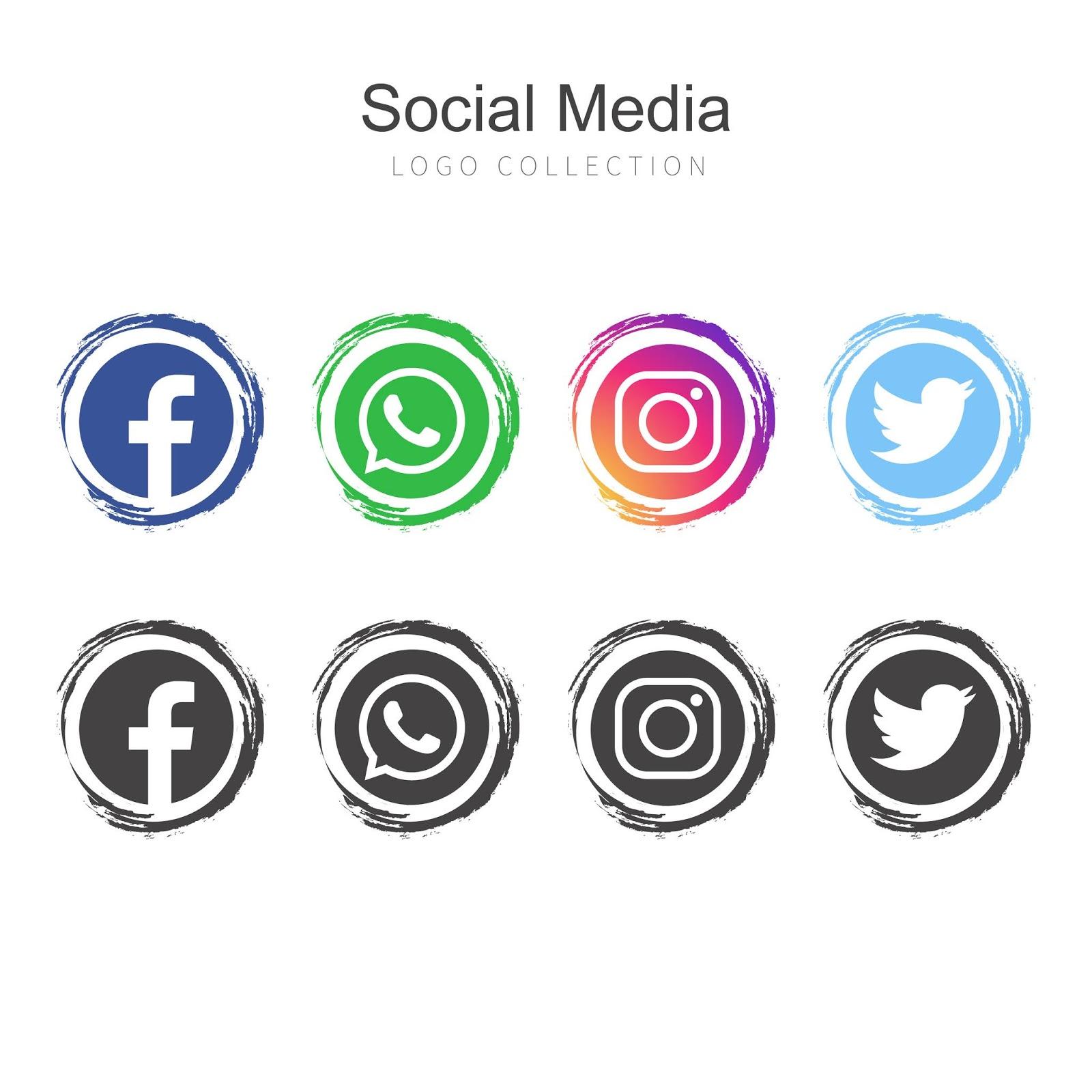 ايقونات التواصل الاجتماعي Png بدون خلفية مجانا 1