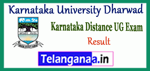 KUD Karnataka University Dharwad Correspondence Distance Part 1 2 3 Result