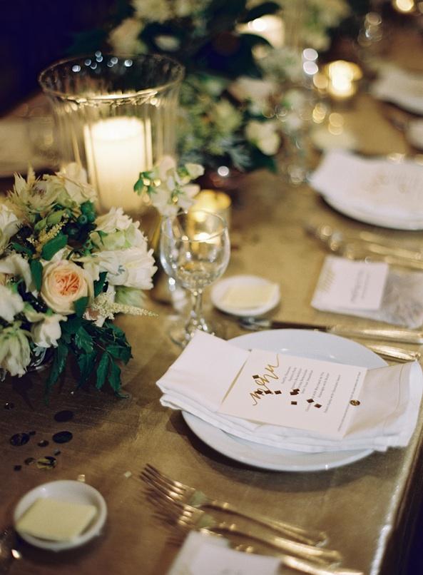 52d2b464b18f Gold Table Settings Wedding - Ronniebrownlifesystems