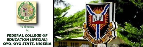 FCE (Special) Oyo Affiliated to UI Post-UTME/DE Screening Form 2018/2019 Session
