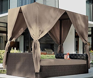 Naples Outdoor Canopy Bed Features : naples canopy bed - afamca.org
