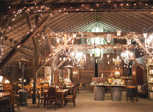 Wedding Decor Hello Rustic Barn