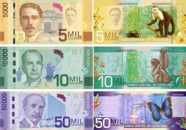 Costa Rican Currency Exchange Rate