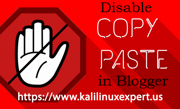 How To Disable Copy/Paste In Blog Or Website