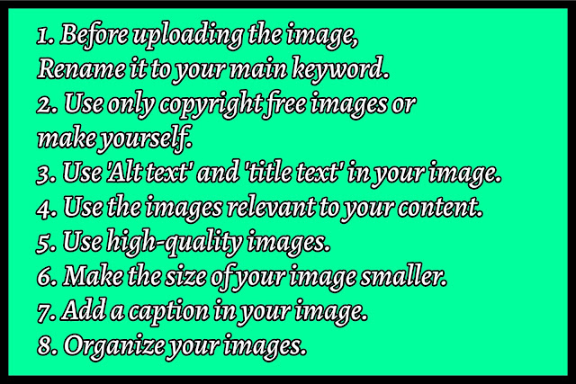 tips for image optimization