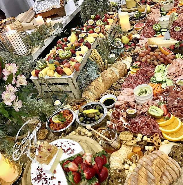 wedding grazing tables boards event food catering sydney