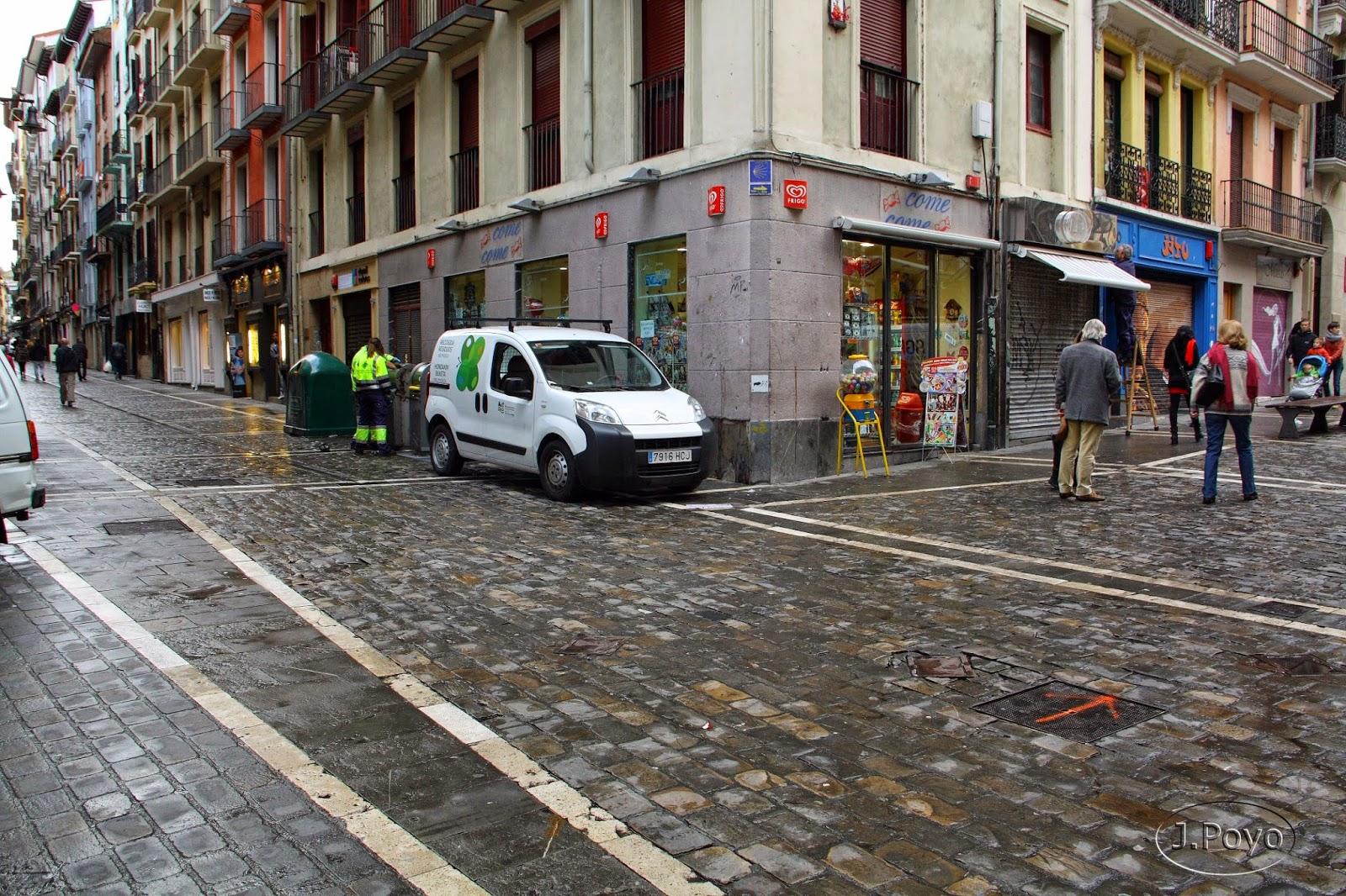 Calle Estafeta de Pamplona