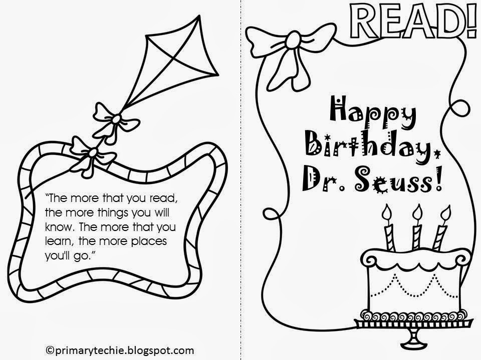 The Primary Techie: Celebrating Seuss with Math, Reading